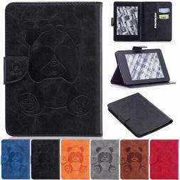 Wallet Leather Smart Case Stand Cover For Amazon Kindle Pape