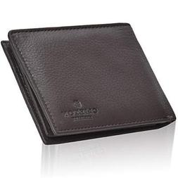 Wallets for Men Clifton Heritage RFID Bifold Leather Handmad