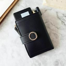 Wallets Small Fashion Brand Leather Purse Women Ladies Card