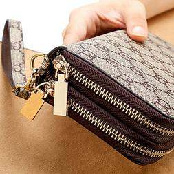 Fashion Women Wallet Large Capacity Clutch Purse Card Phone