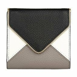 Women's RFID Blocking Small Compact Bifold Leather Pocket W