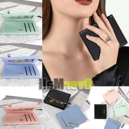 Women Wallets Small Bifold Leather Pocket Wallet Mini Short