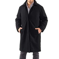 Alpine Swiss Men's Zach Knee Length Jacket Top Coat Trench W